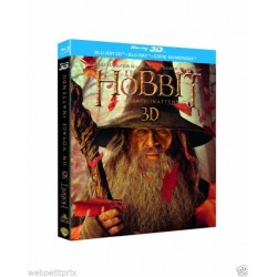BLU-RAY 3D Le hobbit un voyage inattendu 3D