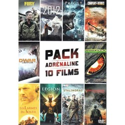 DVD Pack adrénaline 10 films