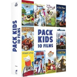 DVD pack kids 10 films