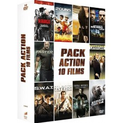 DVD Pack action 10 films