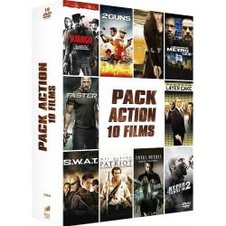 DVD Pack action 10 films