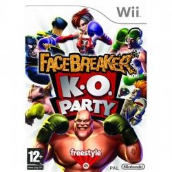 Nintendo Wii facebreaker K.O Party
