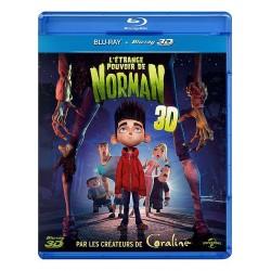Dessin animé -jeunesse l'étrange pouvoir de norman 3d