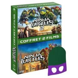 jEUNESSE ninja turtles 1 et 2 avec masque