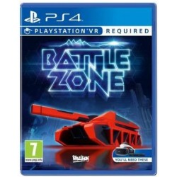 Playstation 4 Battle zone