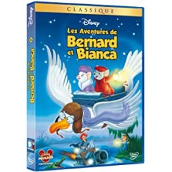 DVD Disney les aventures de bernard et bianca