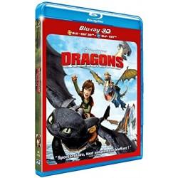 BLU-RAY 3D Dragons 3D