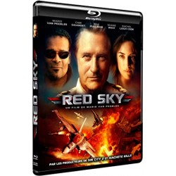 Action red sky