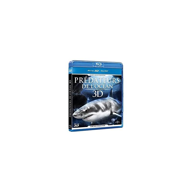 BLU-RAY 3D prédateurs de l'océan 3D