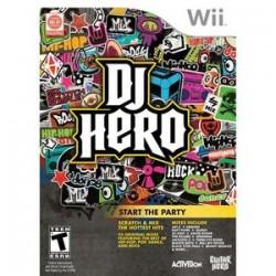 Nintendo Wii DJ HERO
