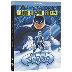 SUPER HEROS Batman et mr freeze