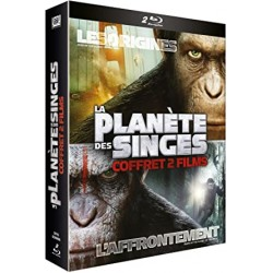 Fantastique La planète de singes (coffret 2 films)
