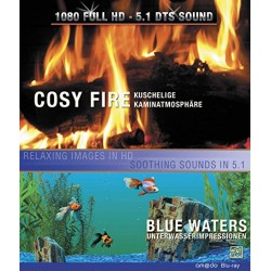 Blu Ray COSY FIRE + blue waters