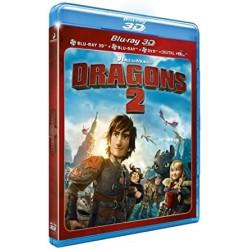 BLU-RAY 3D Dragons 2 3D