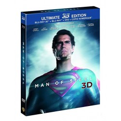 BLU-RAY 3D Man of steel 3D