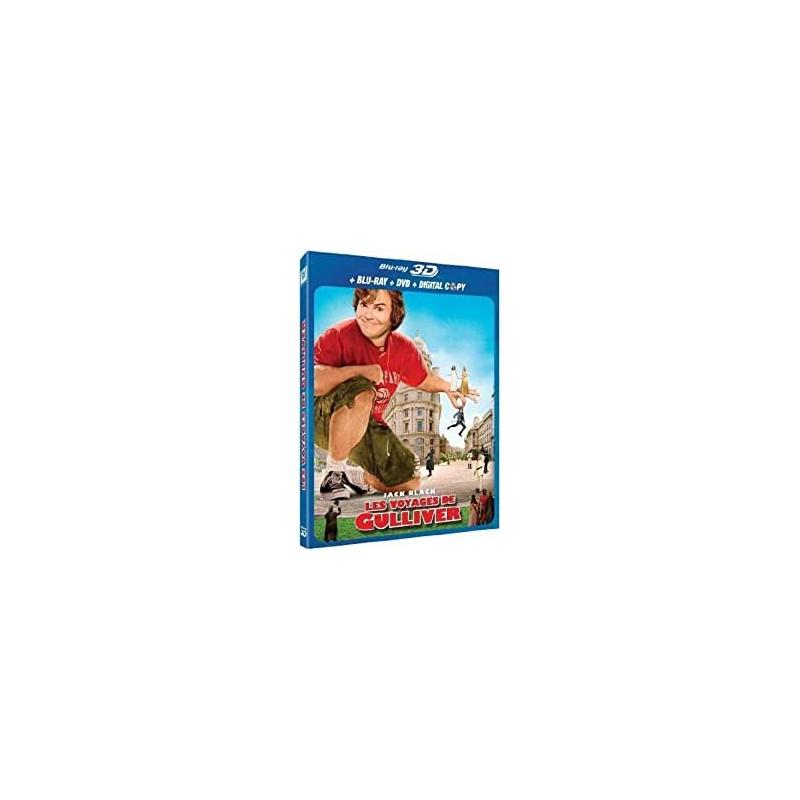 Blu Ray Les voyages de gulliver 3D