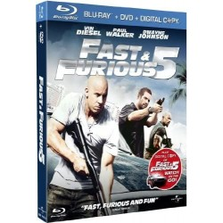 POLICIER Fast et furious 5 (steelbook)