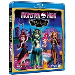 Dessin animé -jeunesse Monster hight (13 souhaits)