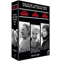 DVD Coffret johnny eddy mitchell jacques dutronc
