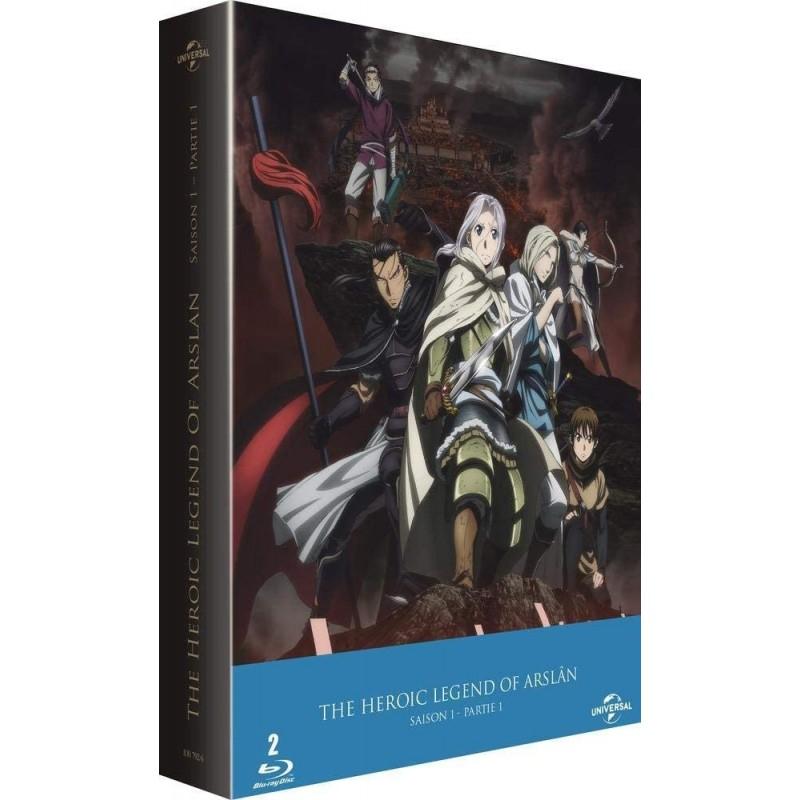 Manga The héroic legend of arslan (saison 1 part 1)