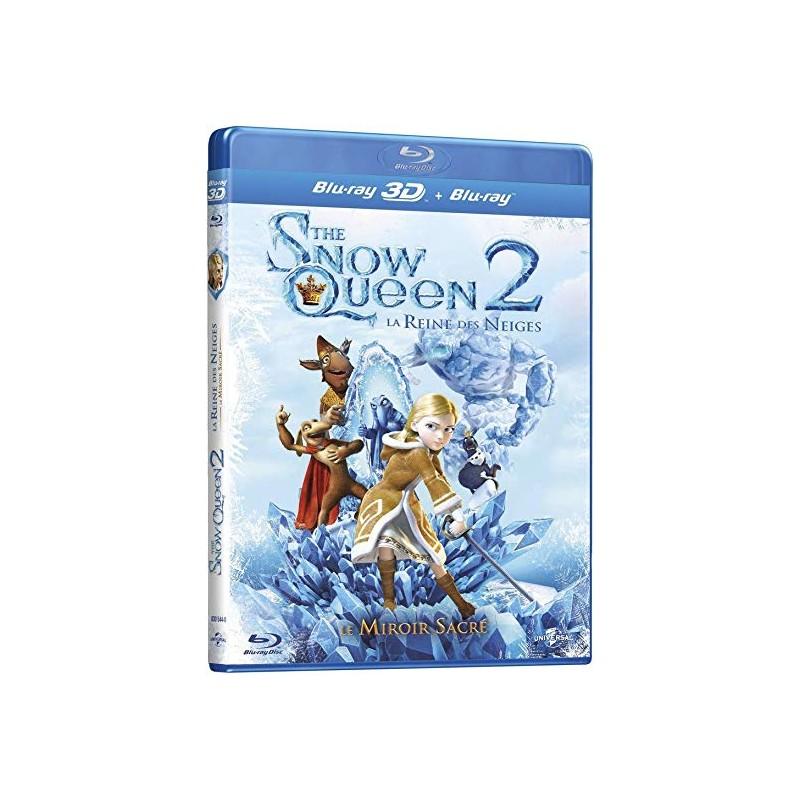 Blu Ray la reine des neiges 2 3D