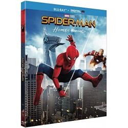 Blu Ray Spiderman homecoming