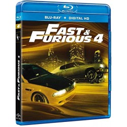 Blu Ray Fast and furious 4