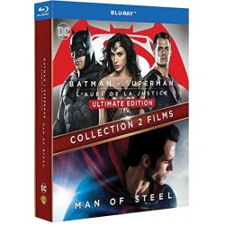 Blu Ray BATMAN v superman et man of steel