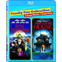Blu Ray Hôtel transylvania + monster house