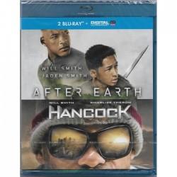 Blu Ray AFTER EARTH + Hancock