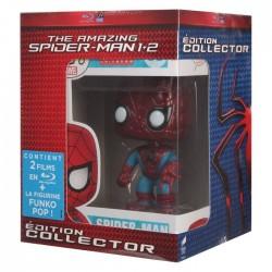Blu Ray Spider Man 1 et 2 the amazing + figurine funko Pop