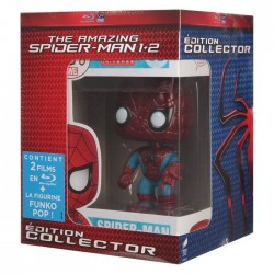 Blu Ray Spider Man 1 et 2 the amazing + figurine funko Pop