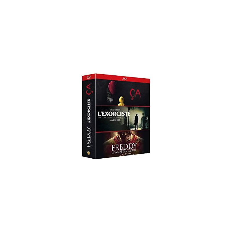Blu Ray coffret CA L'exorciste Freddy