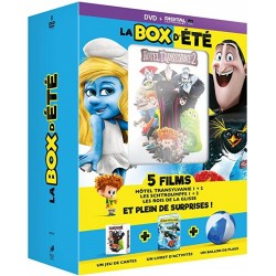 DVD LA box d'ETE (5 films + Jouets)