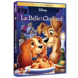 DVD Disney La belle et le clochard