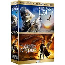 DVD l'enfant loup + moi arthur 12 ans