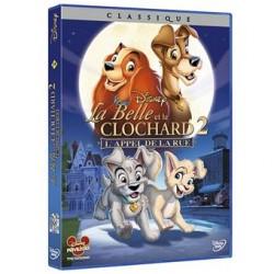 DVD Disney La belle et le clochard 2