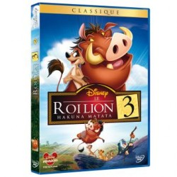 DVD Disney Le roi lion 3